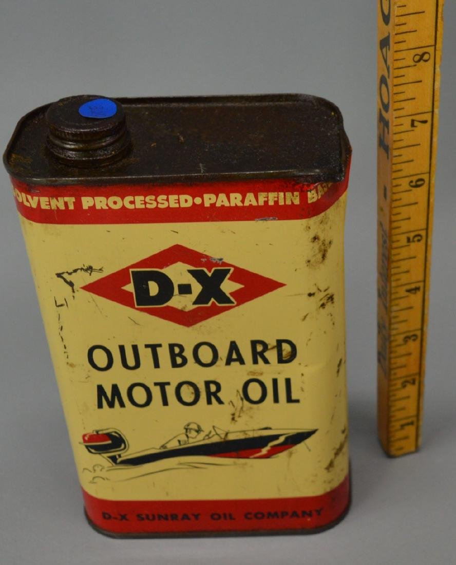 D-X outboard motor oil