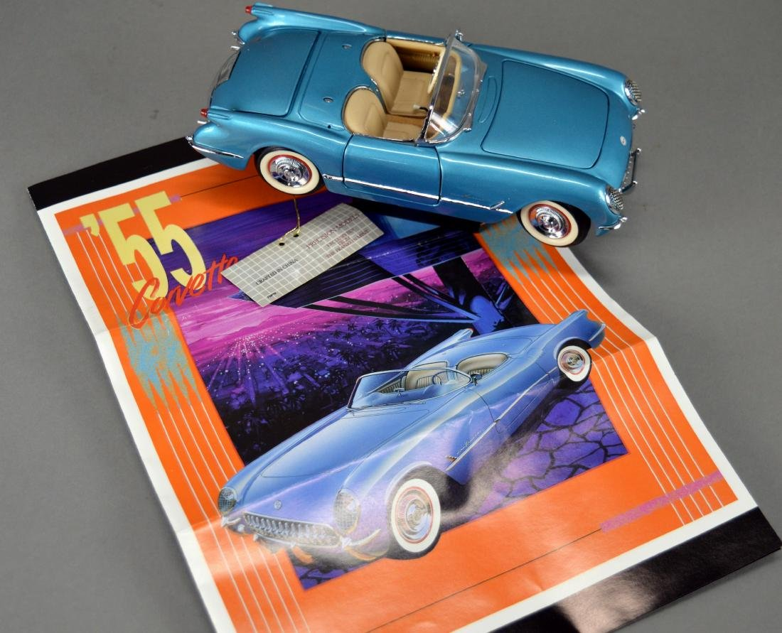 Franklin Mint Precision Model 1955 Corvette - 3