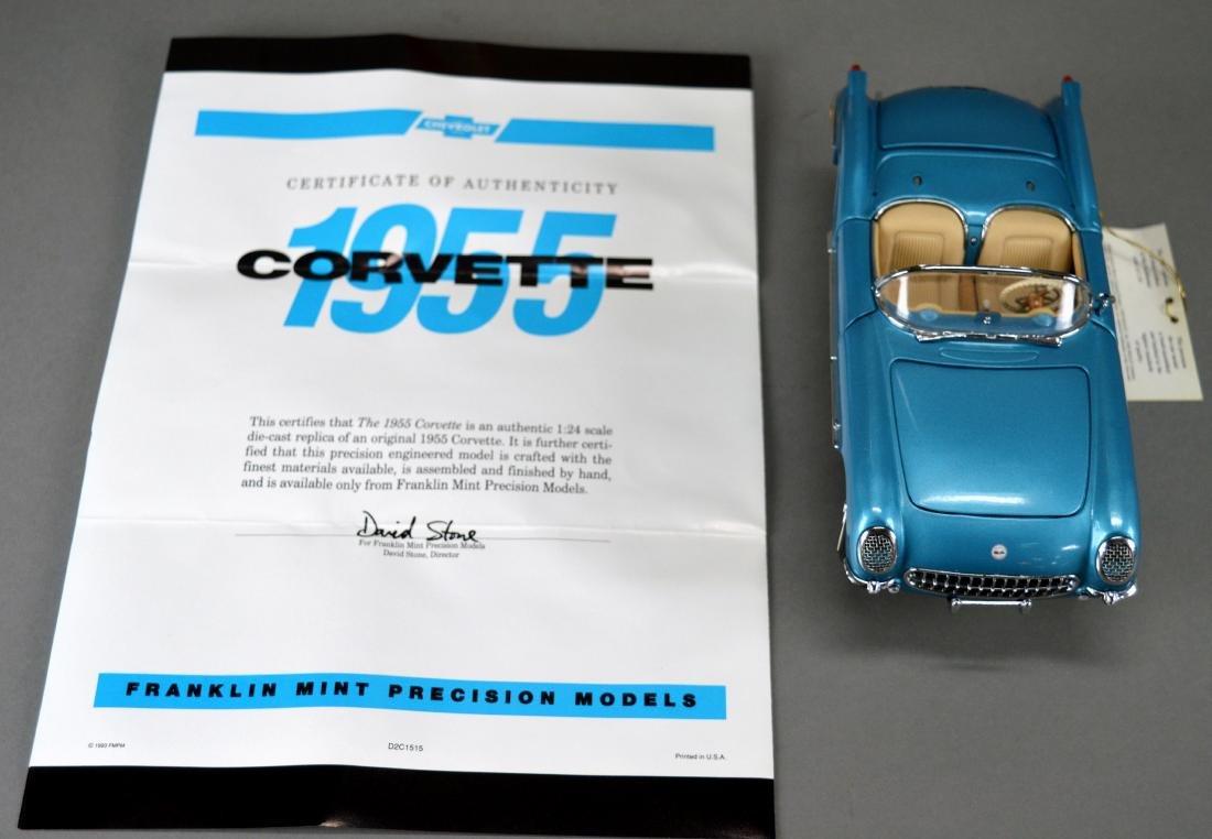 Franklin Mint Precision Model 1955 Corvette - 4