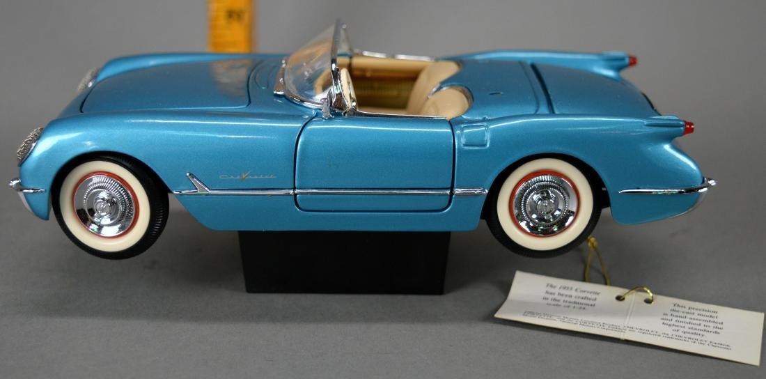 Franklin Mint Precision Model 1955 Corvette - 5