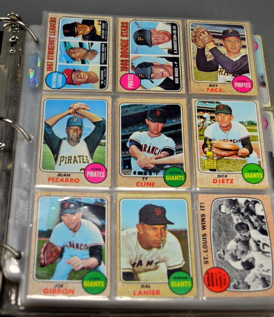 216+ Baseball Cards, c.1960s