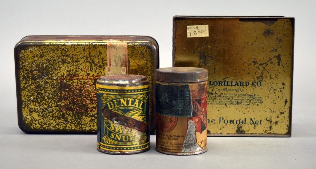 Four vintage tobacco tins - 2
