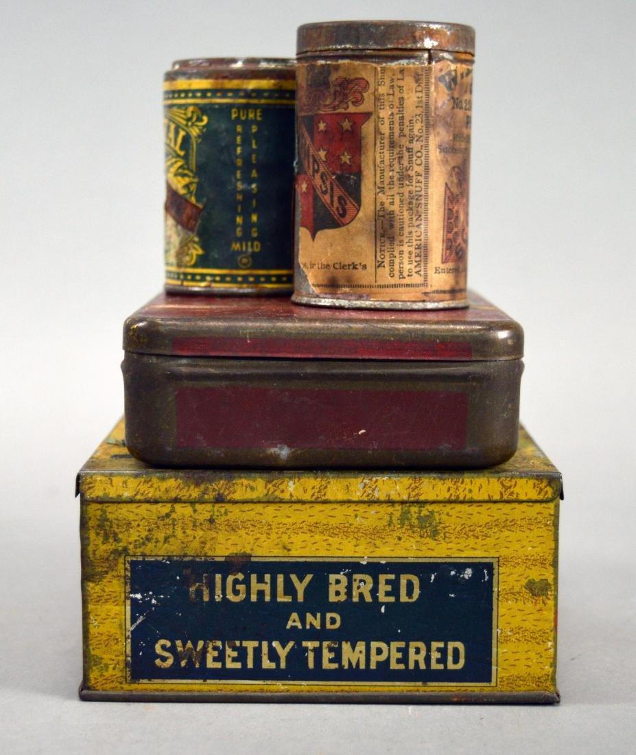 Four vintage tobacco tins - 3