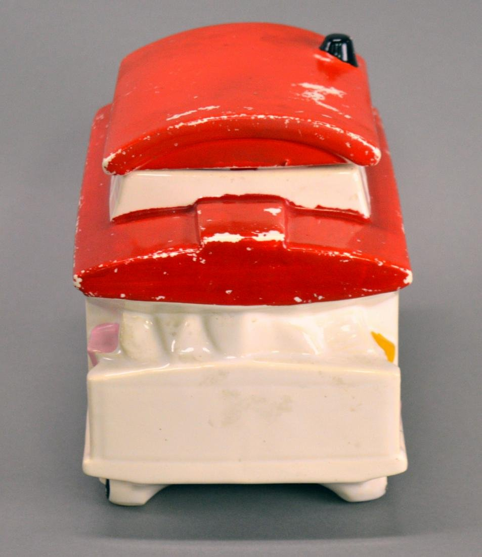 McCoy trolley car cookie jar - 4