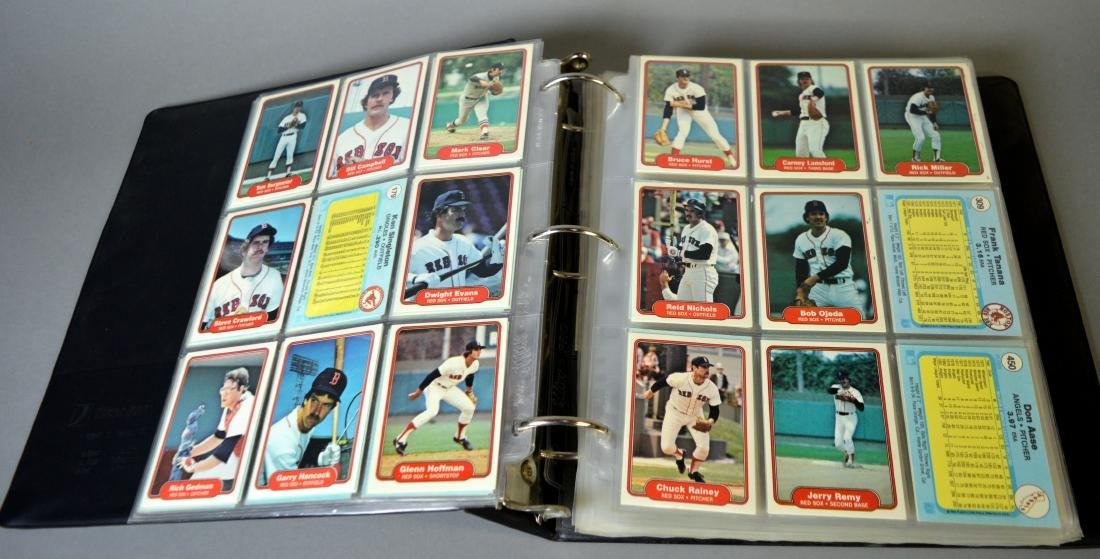 Album with 590+ Fleet baseball cards from the 1980s - 5