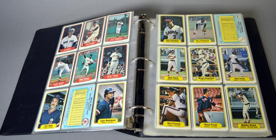 Album with 590+ Fleet baseball cards from the 1980s - 6