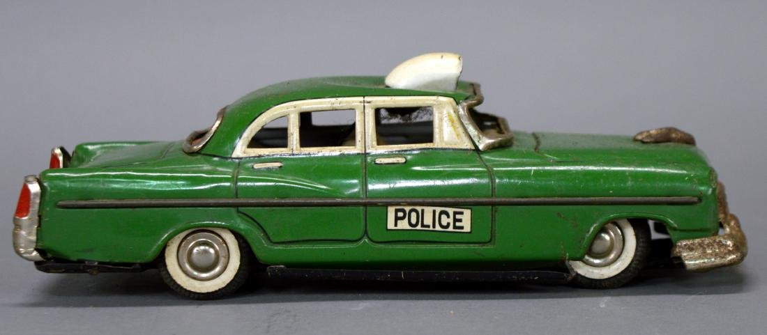 Marx tin litho police car