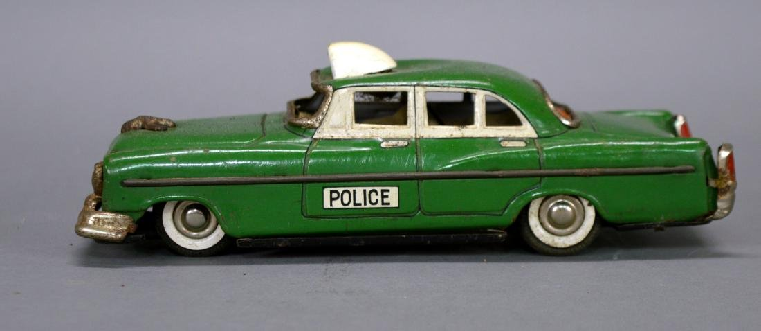 Marx tin litho police car - 3
