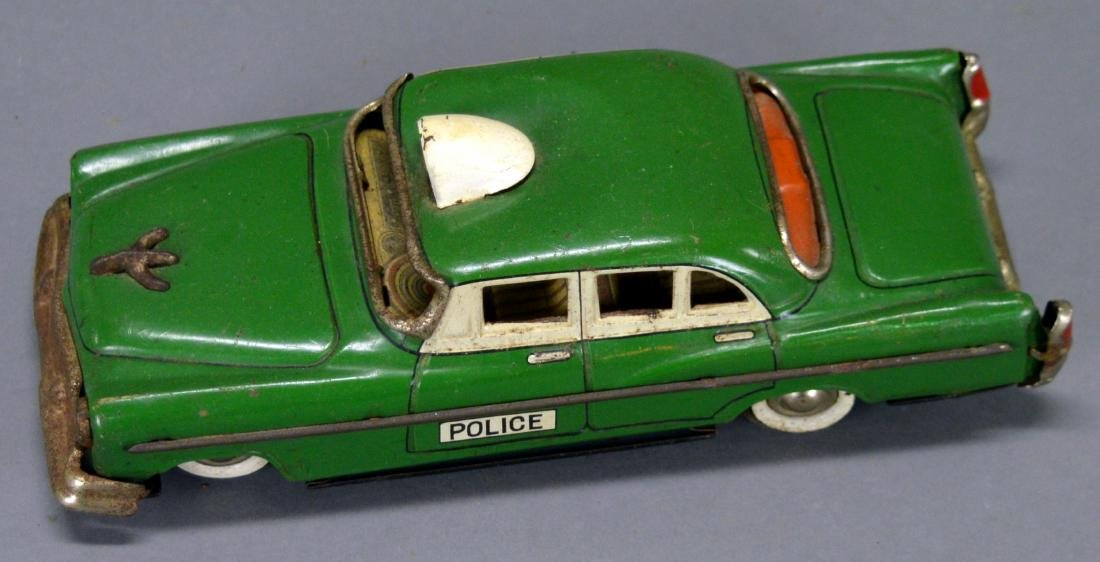 Marx tin litho police car - 5