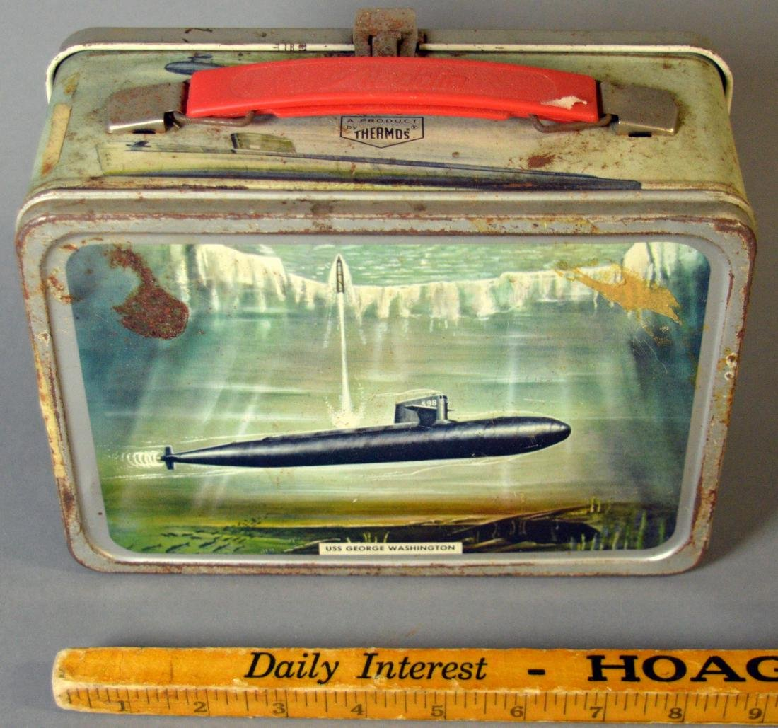 Submarine lunchbox, no thermos