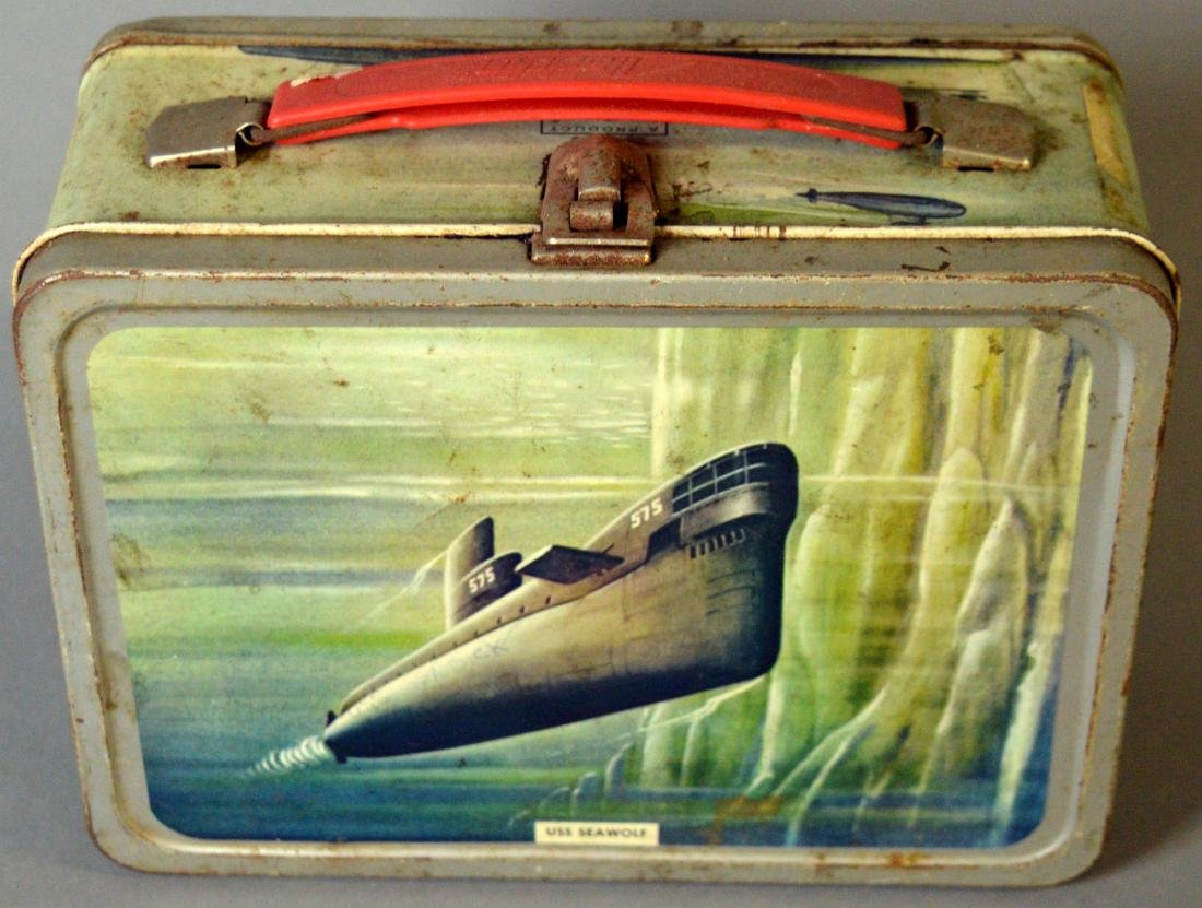 Submarine lunchbox, no thermos - 3