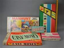 Five vintage board games
