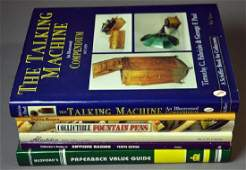 Six collectible reference books