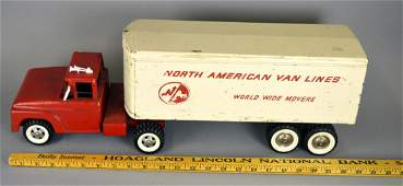 Structo North American Van Lines truck & trailer