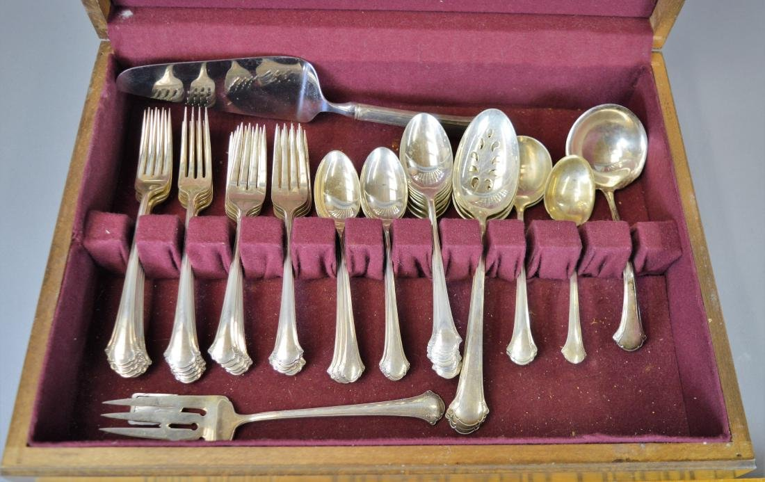 "Towle ""Chippendale"" Sterling Flatware Set - 3"
