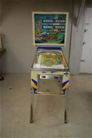 1976 D. Gottlieb Surf Champ Pinball Machine