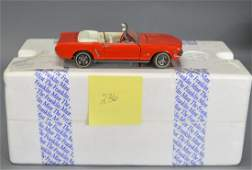 Franklin Mint Diecast 1964 1/2 Ford Mustang
