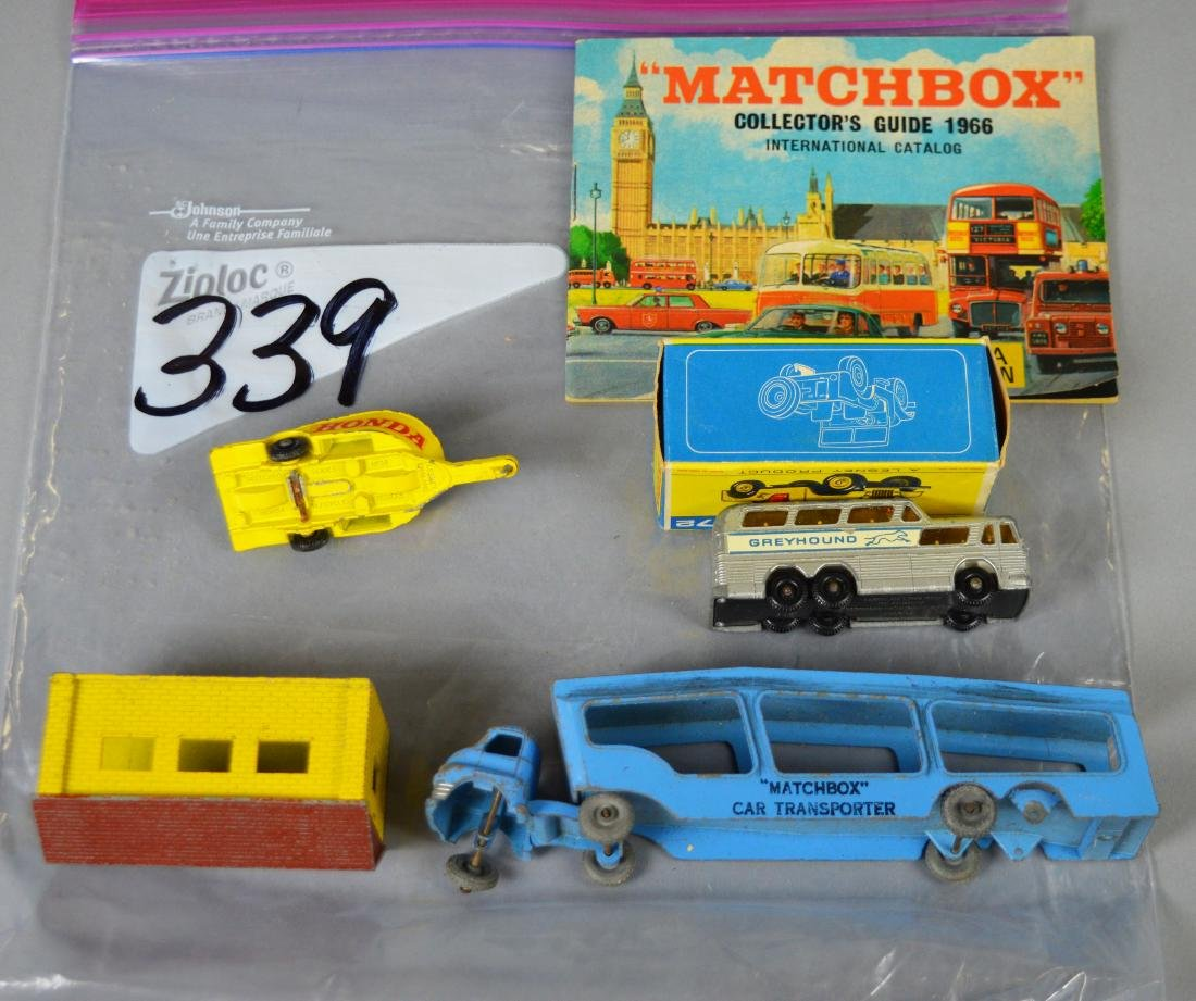 Group of 6 Lesney Matchbox Items