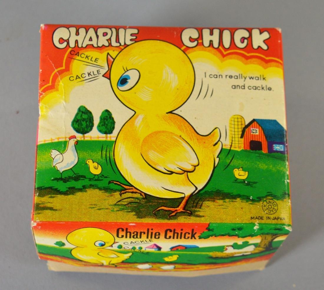 Kanto Toys Charlie Chick Tin Litho Windup Toy