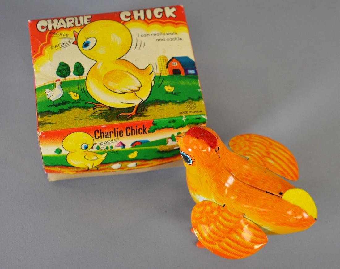 Kanto Toys Charlie Chick Tin Litho Windup Toy - 2