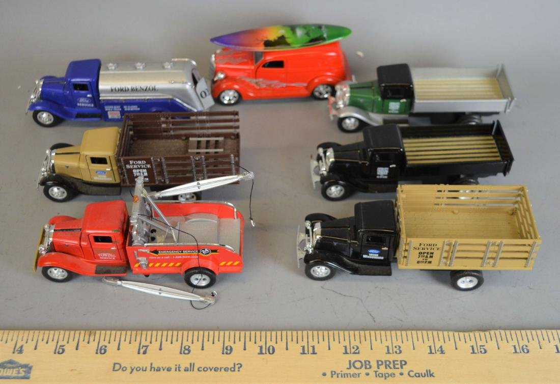 7 Tins  Toys Diecast Model Cars