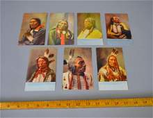 7 Antique Native American Postcards Omaha News