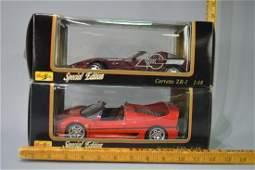 Corvette and Ferrari