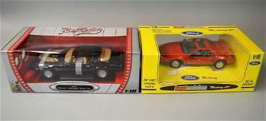 Firebird Trans Am and Mustang