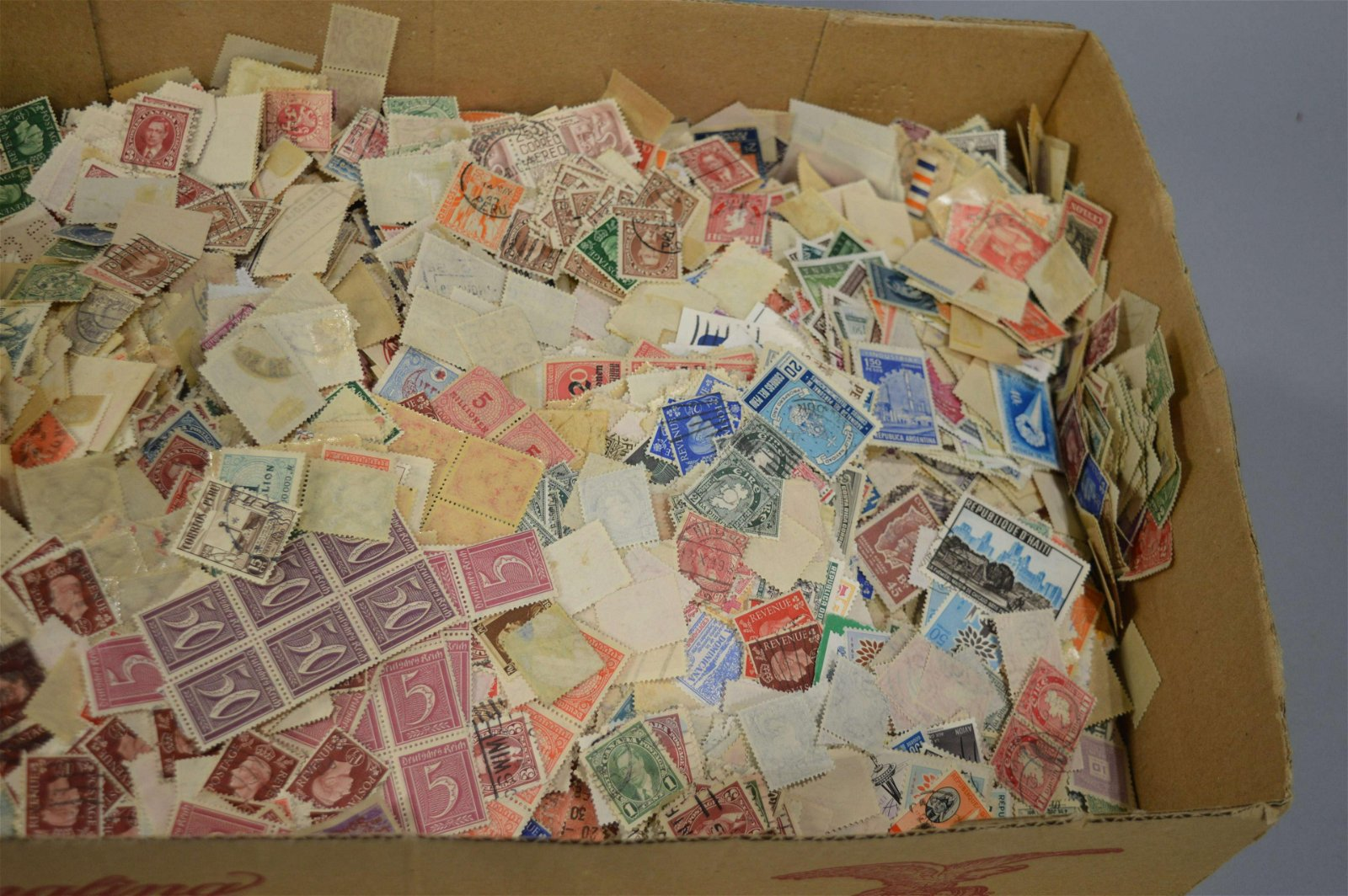 Large Collection of Loose World Postage Stamps