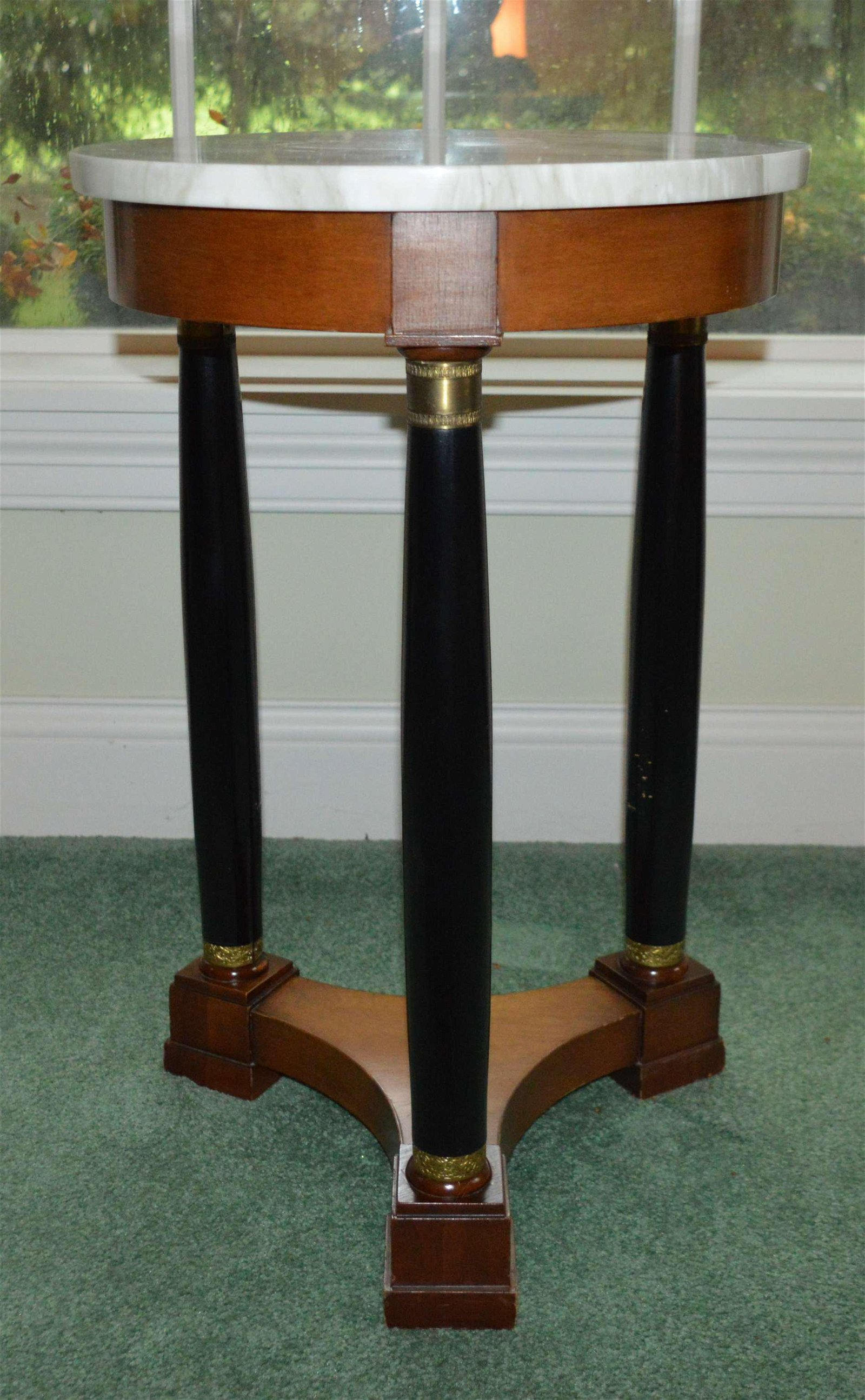 Empire Style Marble Top Table