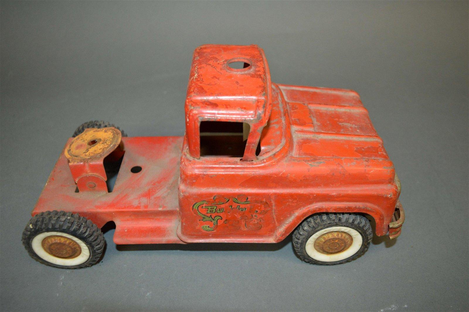 Buddy L Fire Truck Semi Tractor