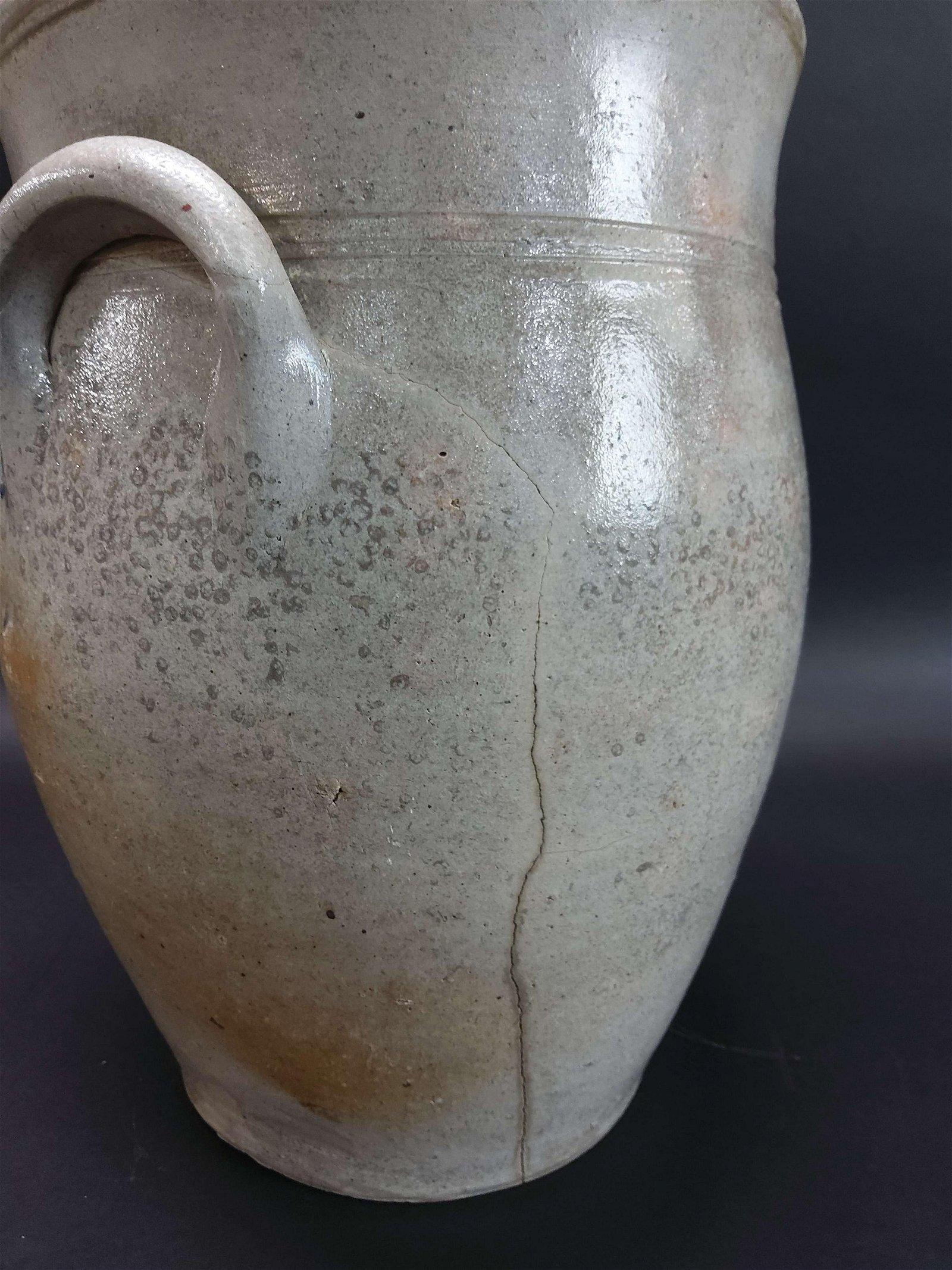 A. DeHaven Middlebury Ohio Stoneware Crock