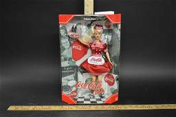 Collector Edition CocaCola Barbie Doll