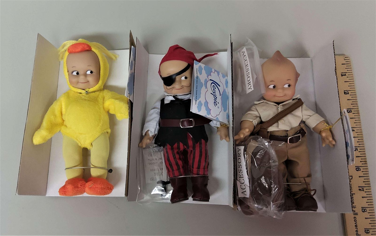 3 Kewpie Dolls Lost World Ahoy Matey Puddles