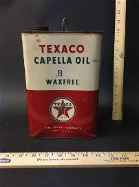 Full Texaco Capella Oil B Waxfree Can