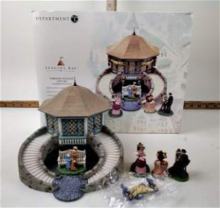 Department 56, Seasons Bay, Parkside Pavilion Gift Set