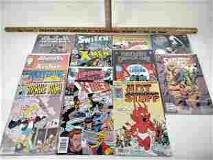 14 DC & Marvel Comic Books Switch Punisher X-Men