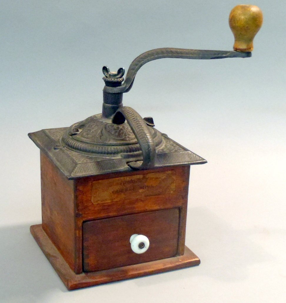 Woodcroftery coffee mill