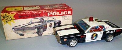 Mystery Bump'N Go Mercury Cougar Police Car
