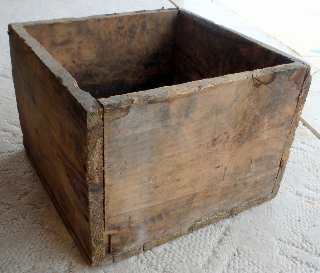Primitive Wood Crate