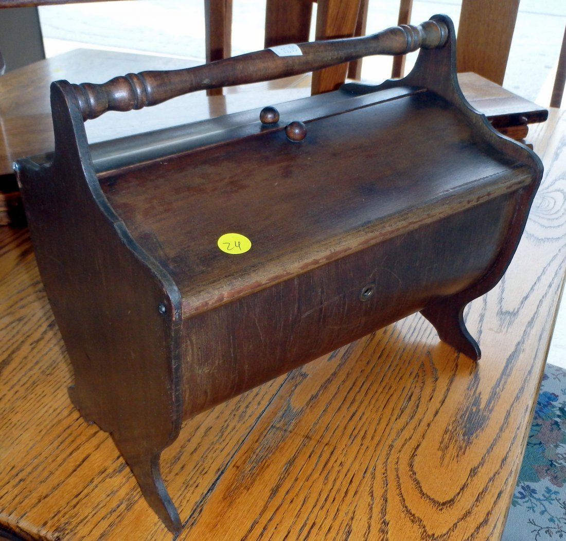 Antique Sewing Caddy