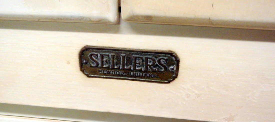 Sellers Kitchen Cabinet - 9