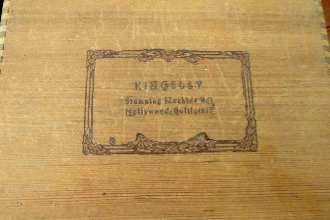 Kingsley Stamping Machine Press Type and Holders - 2