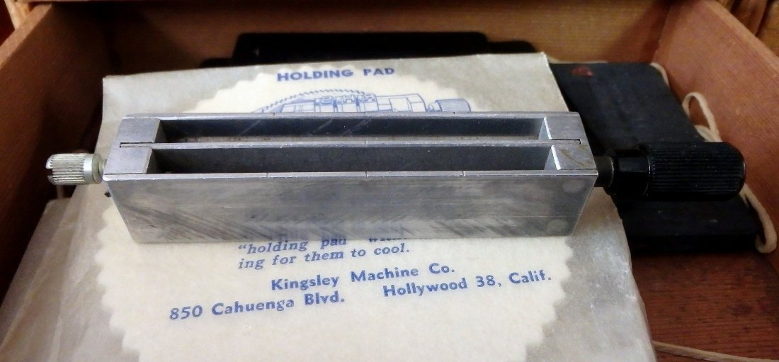 Kingsley Stamping Machine Press Type and Holders - 3