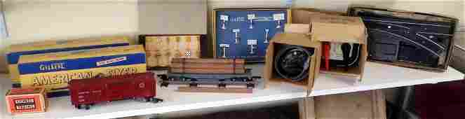 Gilbert American Flyer and Lionel Train Accessories