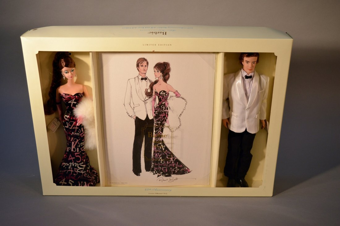 Robert Best Fashion Model Collection Barbie and Ken
