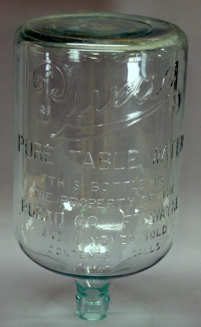 Puraq 5 Gallon Water Jug, Marked Ft. Wayne