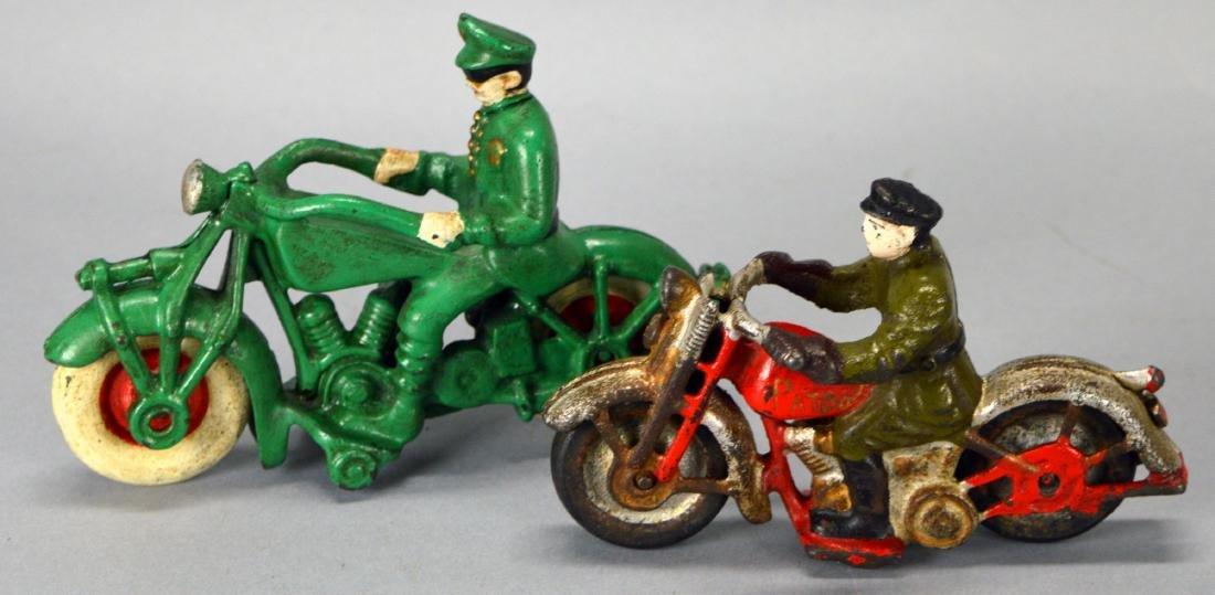 2 Cast Iron Motorcycles