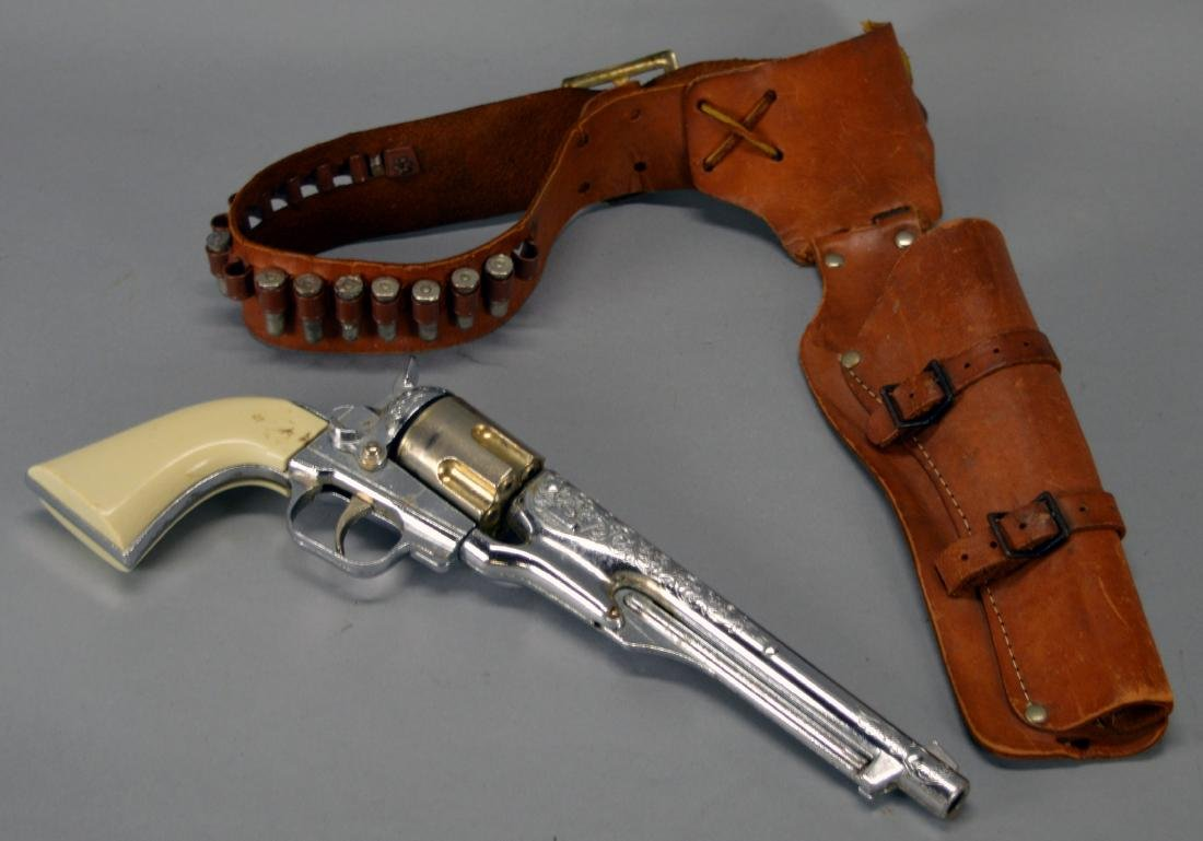 Colt .45 Childs Pistol With Holster & Fake Bullets