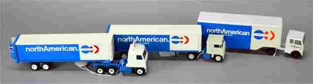 Lot Of 3 Toys - 2 Winross Trucks & Ralston Truck